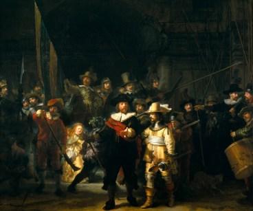 La ronda de noche.Rijkmuseum, Amsterdam (363 × 437 cm)