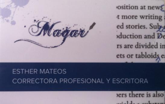 Corrección de estilo y ortotipográfica Magar